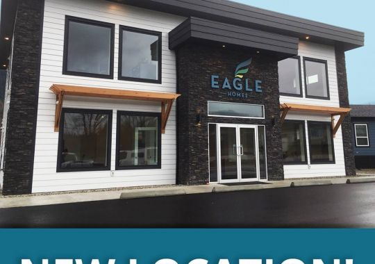 Eagle Homes - New Location in Salmon Arm