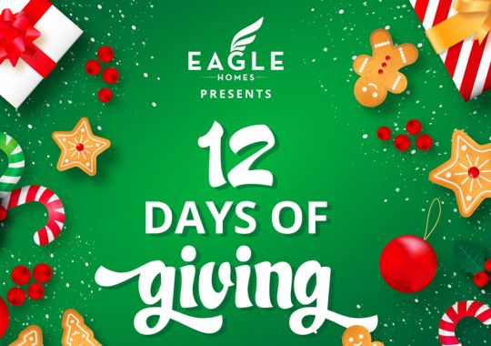 Eagle Homes - 12 days of Gifting